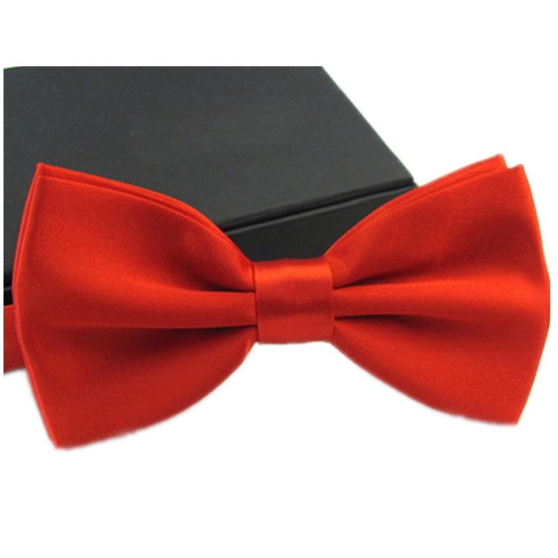 Chlapci Bow Ties Značka Classic Pevný motýlek Pánské Bowtie Volný čas Obchodní košile Motýleky pro muže Svatební Gravata Pánské doplňky  t