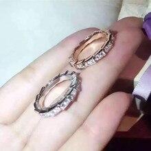 Модельер 925 стерлингов Серебряные ювелирные изделия 3A Цирконий партия кольцо