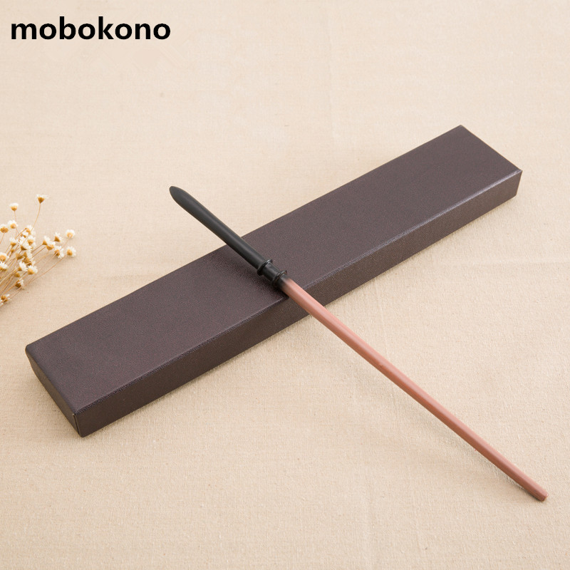 mobokono New Arrive Metal Iron Core Draco Malfoy Wand Harry Potter Magic Magical Wand Gift Box Packing
