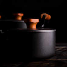 Cooking Tools 7PC/Set Cast Iron Pot Set  Household Uncoated Non-Stick Pan Inducttion Applicable