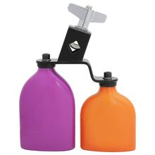 Percussion Cowbell Rock Drumset Accompaniment 2in1 180mm 7inch ABS