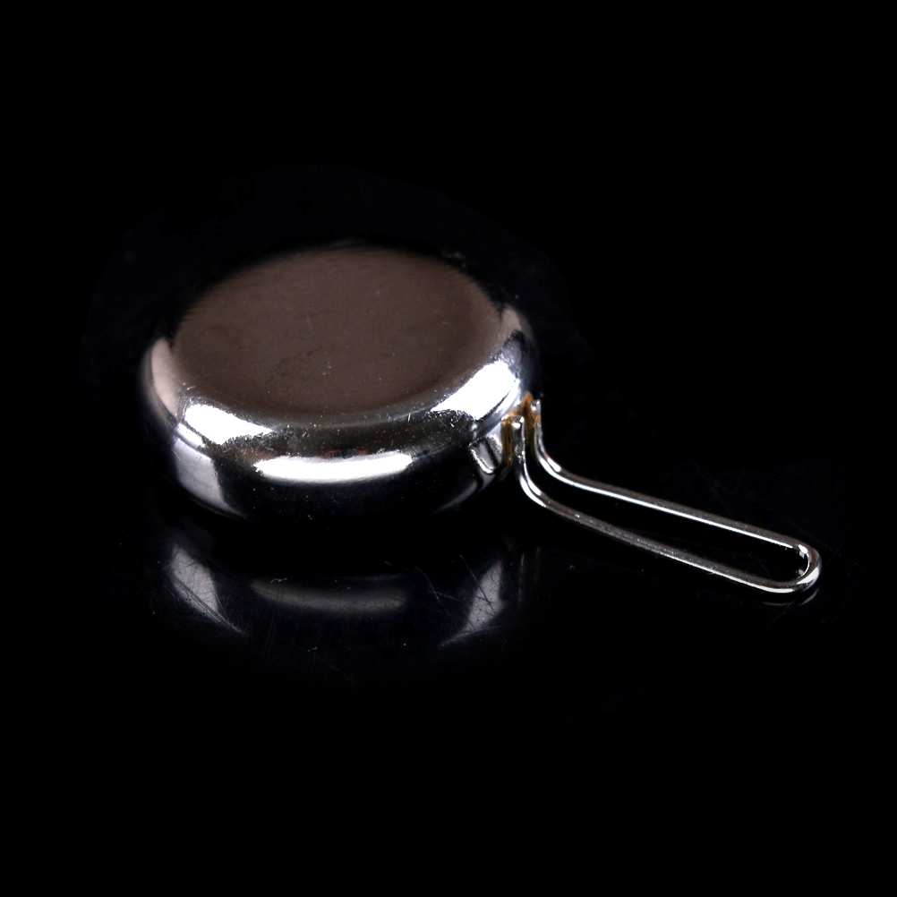 Super Dollhouse Miniature Silver Gas Stove Kitchen Cooking Tool Accessories 1:12