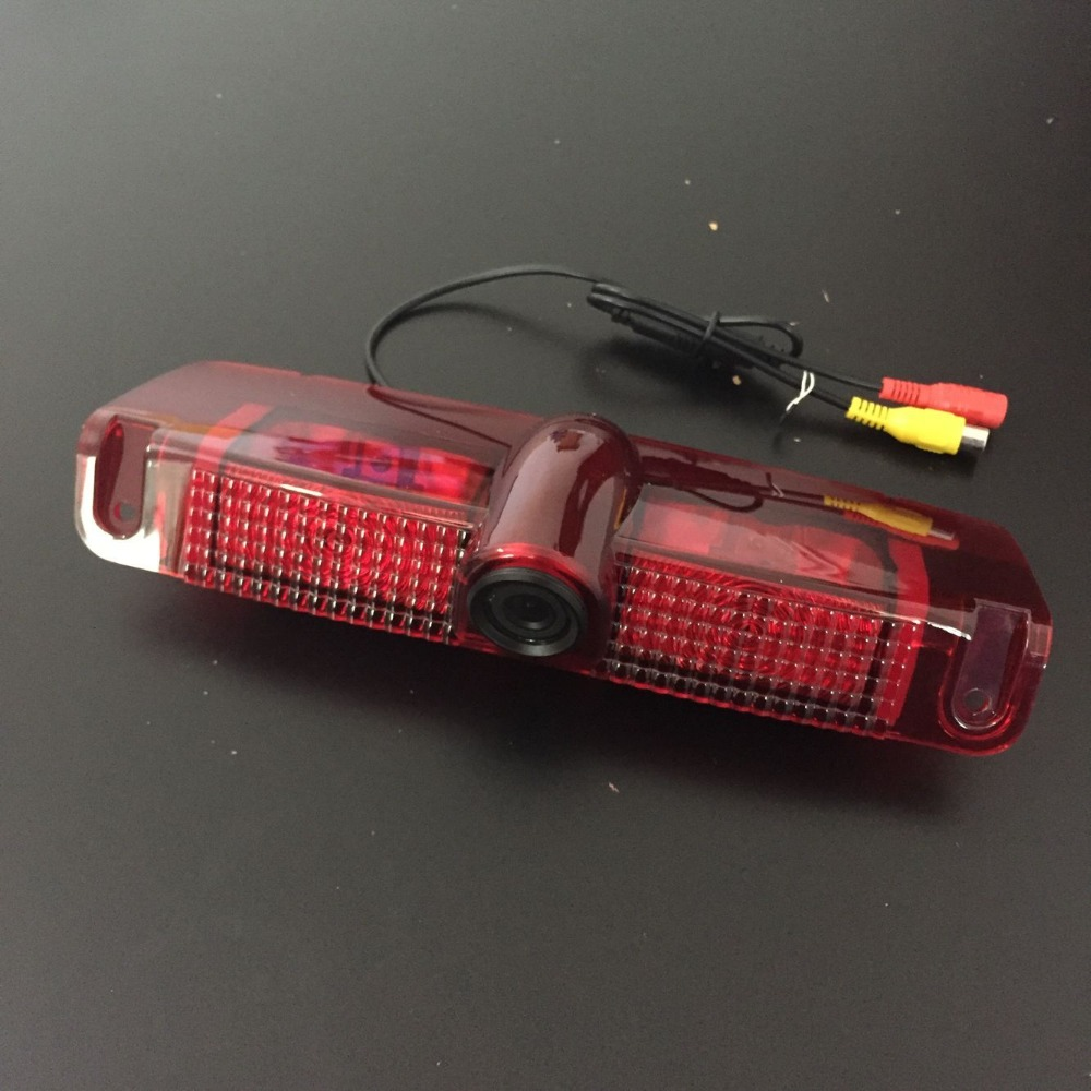 Ccd backup brake light camera rear view camera for savana chevy express van with