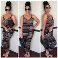 Oversize XXXL -S Sexy Women Party Jumpsuit Backless Playsuit Bodycon Romper Trousers Clubwear Geometric strapless jumpsuits