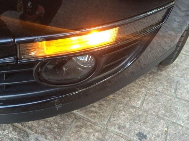 EOsuns высочайшее качество Угол Бампера Боковой Габаритный Передний Сигнал Поворота Света Галогенная лампа для Volkswagen VW passat B6