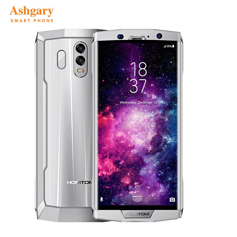 HOMTOM HT70 4G Smartphone 6.0 Inch Android 7.0 MTK6750T Octa Core 1.5GHz 4GB RAM 64GB ROM Dual Rear Cameras 10000mAh Battery