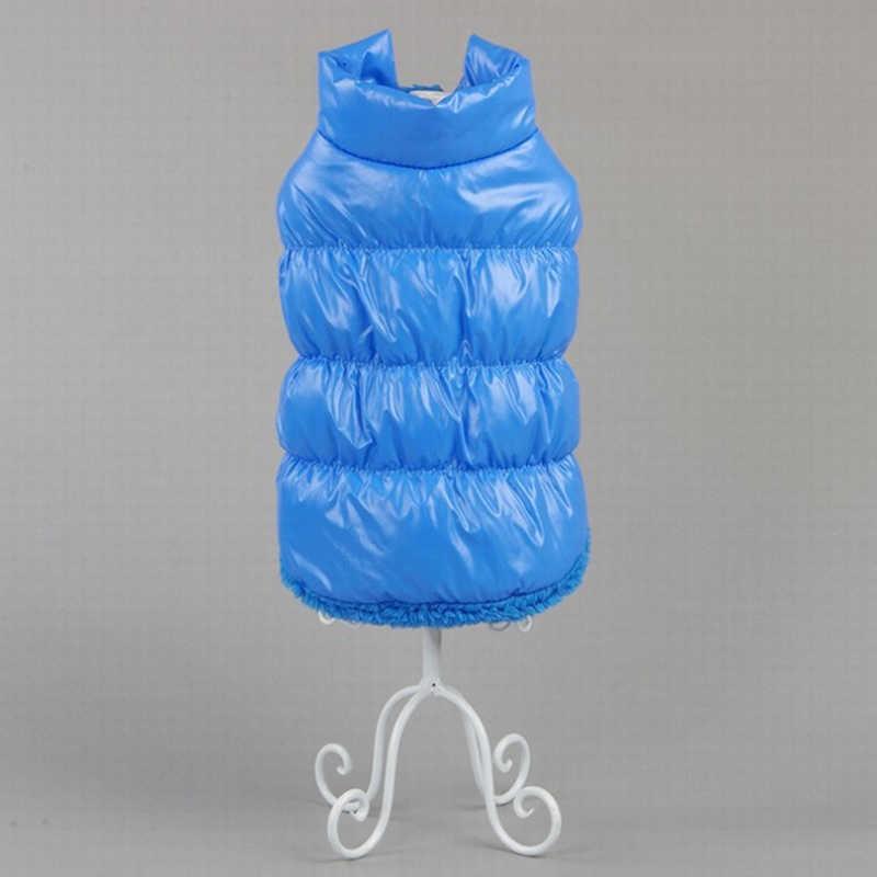 Зимняя одежда для домашних животных теплое большое пальто для собаки щенка одежда водонепроницаемый жилет для животных куртка для маленьких средних больших собак золотой ретривер