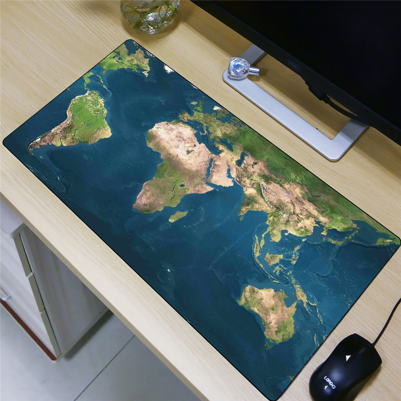 US $12.45 25% OFF|FFFAS Big 80x40cm Large Mouse Pad World Map Earth on nautical map table, materia table, people table, diy jigsaw puzzle table, map legend table, map coffee table, world water table, old map on table, games table, judson map cocktail table, atlas coffee table, community map table, old world trunk coffee table, green table, antique map table, decoupage table, vintage map table, paris eiffel tower table, blue table, war map table,