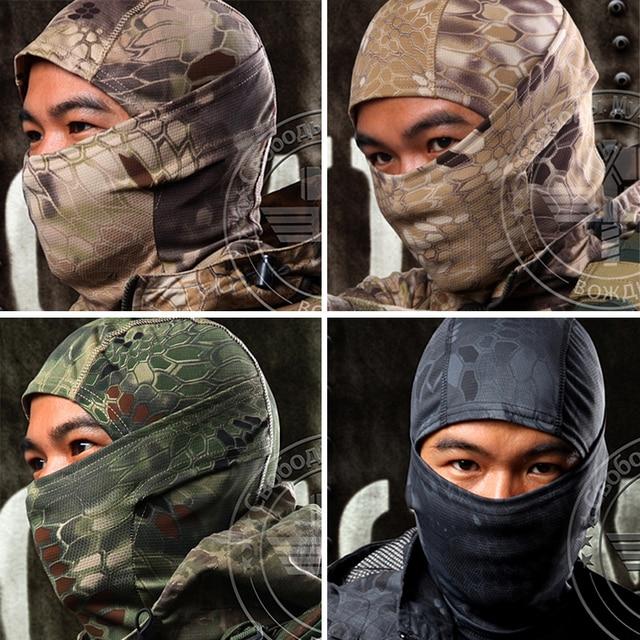 Multicam Balaclava Vrai Arbre de Camouflage Tactique Militaire Armée  Airsoft Paintball Coupe-Vent Snowboard Protection af82c778394
