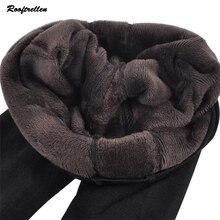 Rooftrellen, Хит, новые модные женские осенне-зимние эластичные и качественные плотные бархатные штаны, теплые леггинсы