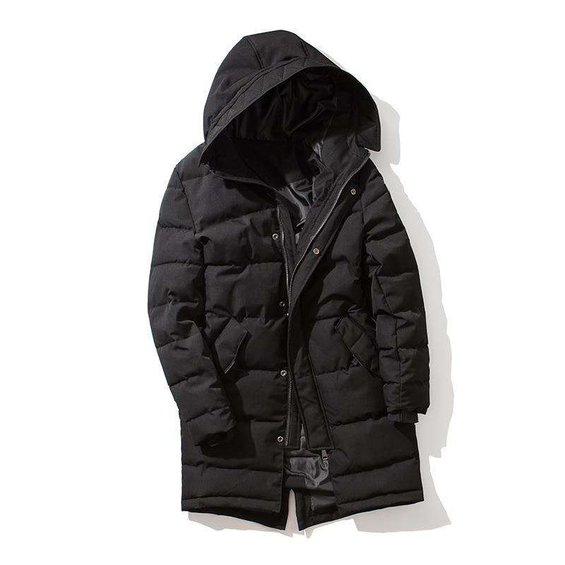 2017 Winterjacke Männer Marke Kleidung Männlichen Baumwolle Parka Neue Top Qualität Mens Parkas Warm Winddicht Mann Mit Kapuze Jacken Und Mäntel