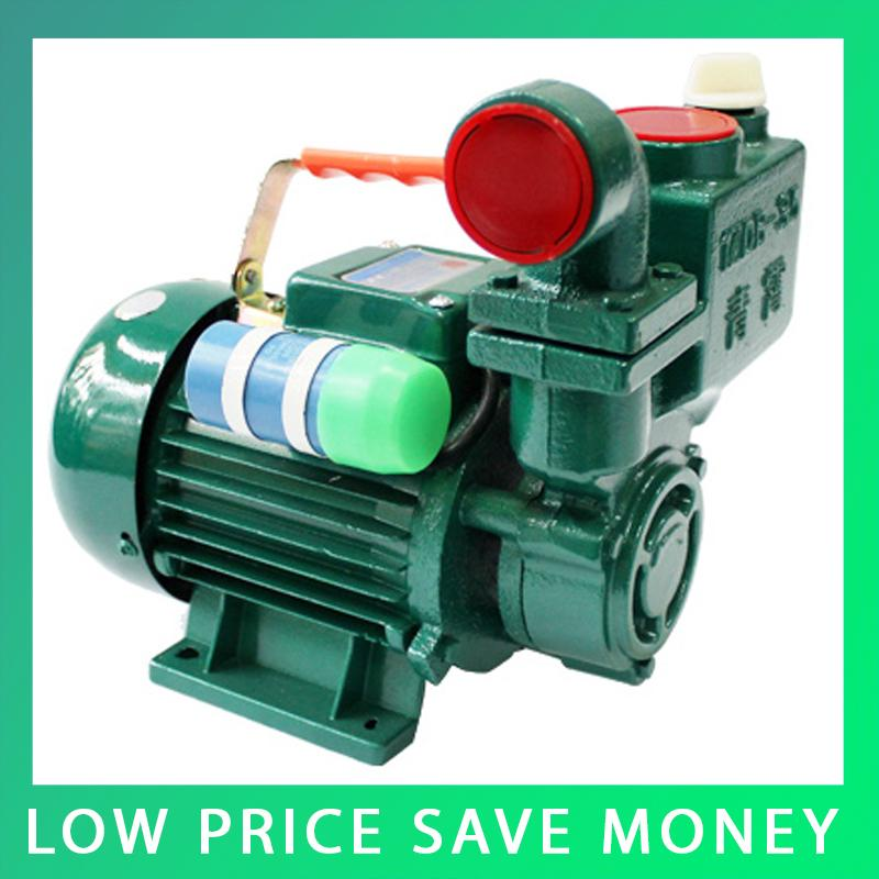 Hot Sale 3m3/h Self-priming Garden Irrigation Water Booster Pump House 0.55kw Booster Water Pump 0 75kw self priming water pump for high rise wells in the river lake 220v household jet garden pump 4 5m3 h big capacity