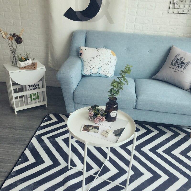 Aliexpress Buy Fashion Modern Geometric Wave Zigzag Living Room Bedroom Decorative Carpet Area Rug Bathroom Floor Door Yoga Baby Crawl Play Mat From
