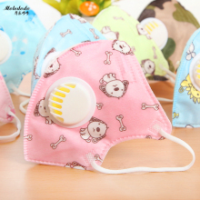 Moledodo 5pcs/bag pm2.5 disposable anti-fog haze dust breathable mouth masks Childrens Nonwovens With sliding door