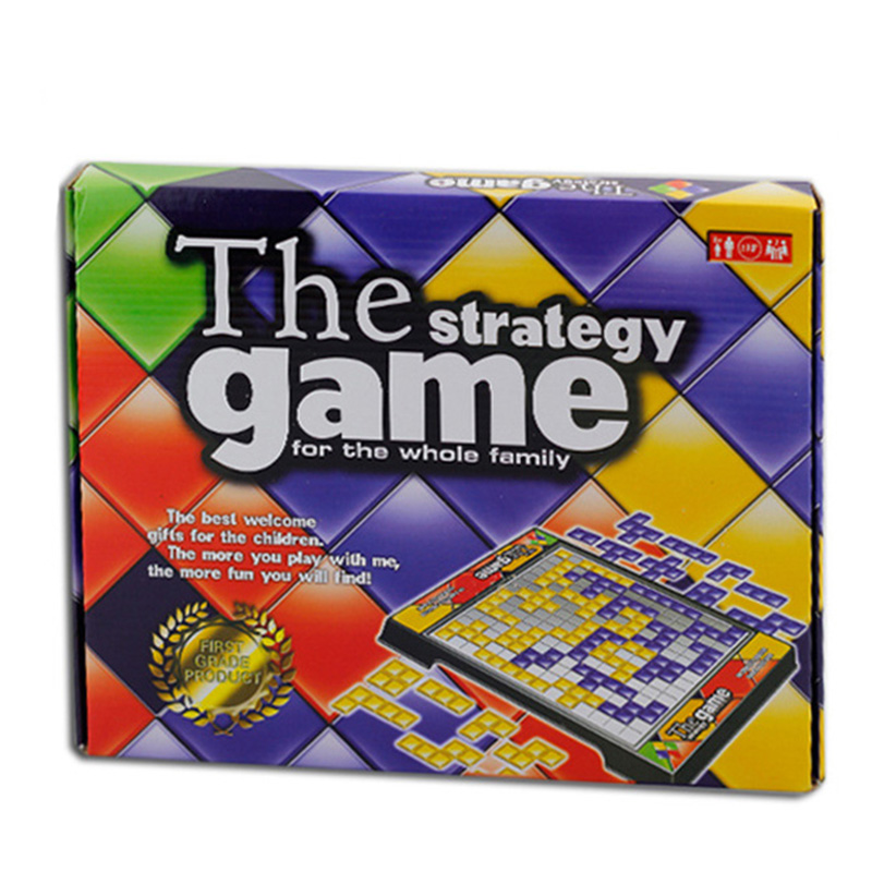 The Stretegy Game Board Game Educational Toys 2 Players Game Easy To Play For the Whole Family Russian Box Series