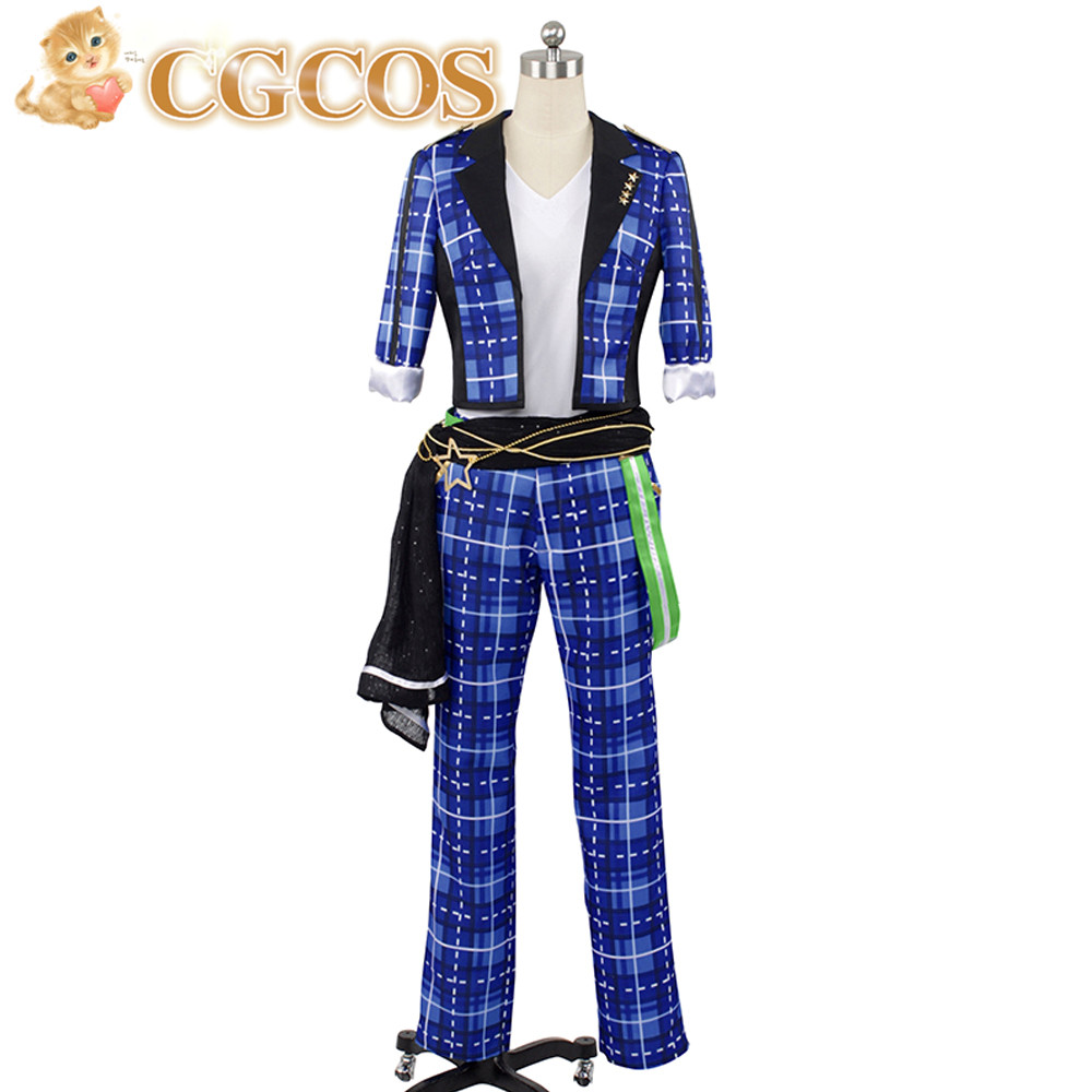 CGCOS CGCOS Free Shipping Cosplay Costume Ensemble Stars Makoto Yuuki New in Stock Retail /Wholesale Halloween Christmas Uniform