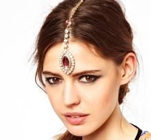 New Brand Headband Hair Band Wedding Acessories Crystal Bridal Hair Accessories Head Chain Hair Jewelry for Women HR004