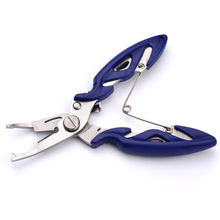 1pcs Multi function Pliers Scissors Fishing Line Cutter Hook Remover Tools Fishing Pliers 52g