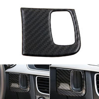 1x Carbon Fiber Car interior Adornment Key Panel Trim Cover Fit For Audi A4 B8 B9 A5 2009 2015