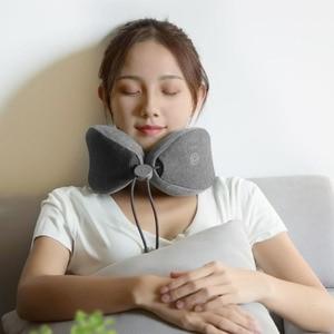 Image 5 - Youpin LF cou oreiller Instrument de Massage électrique épaule dos corps masseurs infrarouge sommeil pour la maison intelligente