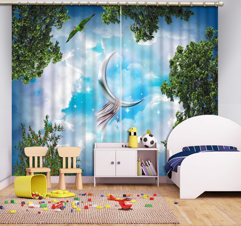 extraordinary cafe curtain living room   Modern Blackout Curtains Living Room Bedroom Fashion ...