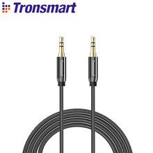 Tronsmart Gold Plated 3.5mm jack AUX Cable Audio Cable Speaker Cable 4ft/1.2m for Headphones, Bluetooth Spekaer,iPods, iPhones(China)