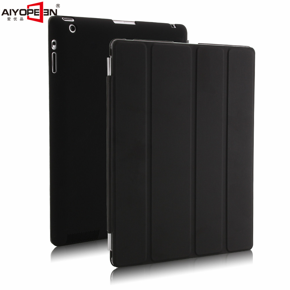 for ipad 2 3 4 case pu leather with solid plastic back cover magnetic smart wake up sleep for apple ipad 2 3 4 ultra flip stand luxury ultra slim stand smart cover pu leather case for apple ipad mini 2 3 4 with auto sleep wake magnetic flip cases