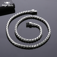 Ancient Silver Plated Chain Necklace For Men Or Women Buddha Necklace Jewelry Accessories Wholesale Free Shipping