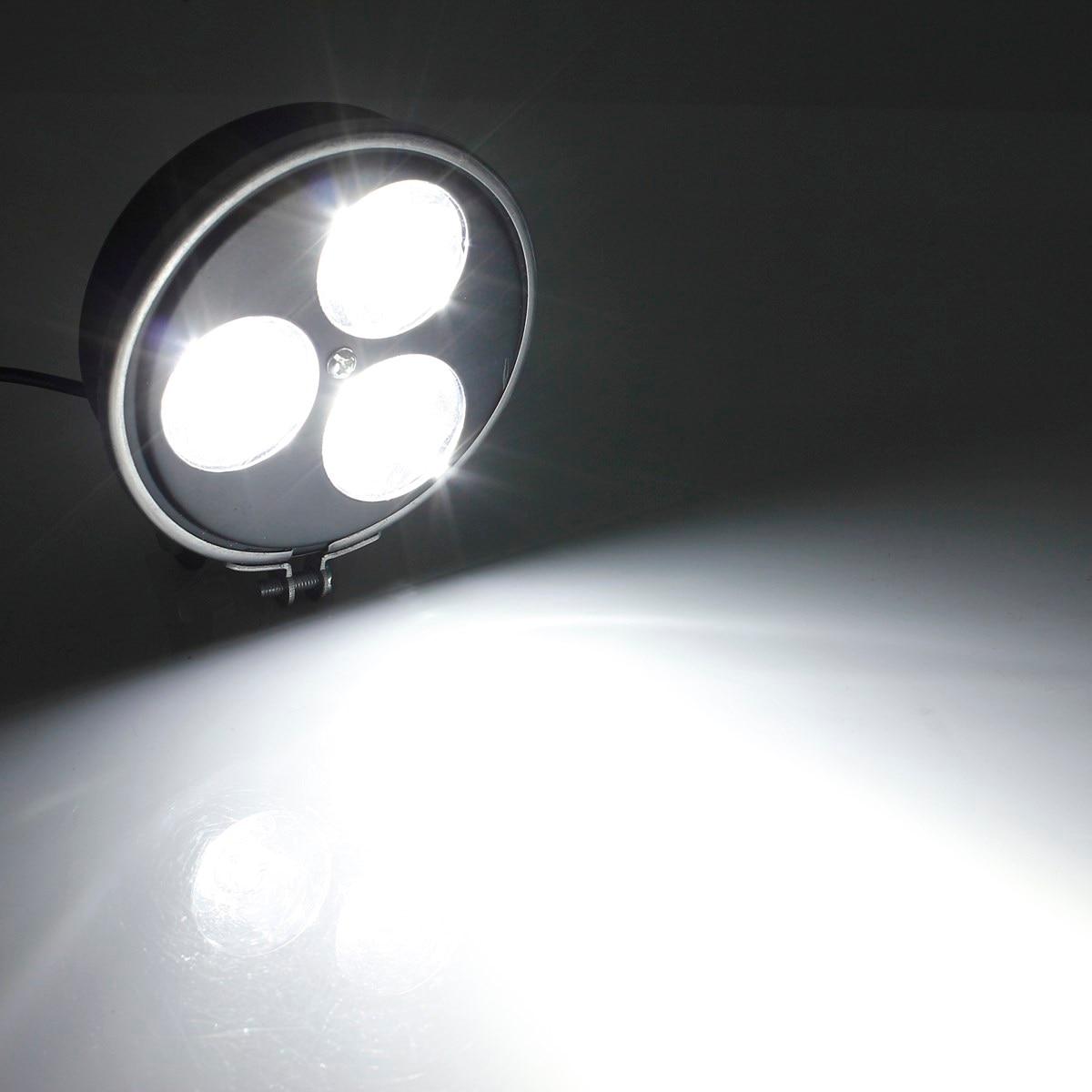 3 светодиодных универсальный мотоциклов мотоцикл atv e-велосипед фара передняя пятно света лампы
