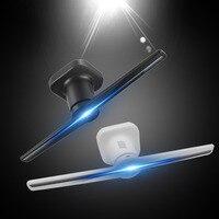 Icoсветодио дный co светодиодный голографический проектор портативный голограмма плеер изображение реклама лампа 3D голографический дисплей