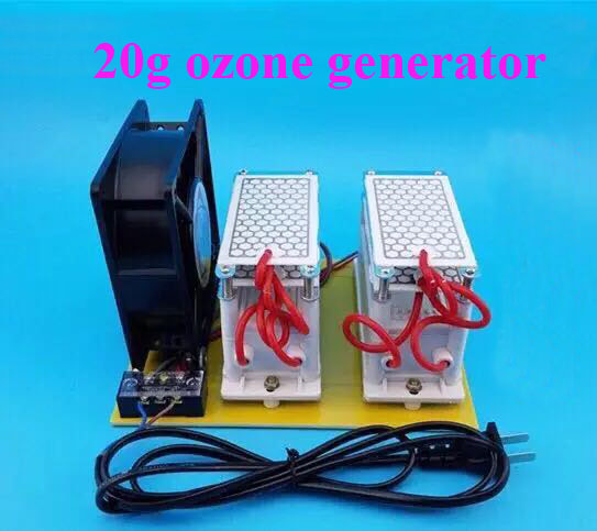 free shipping 20G ozone generator 110V 220V Portable Ozone Generator Air Purifier Fruit And Vegetable Steriliza цена и фото