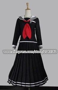 Danganronpa Toko Fukawa костюм для косплея черное платье Dangan-Ronpa Cos