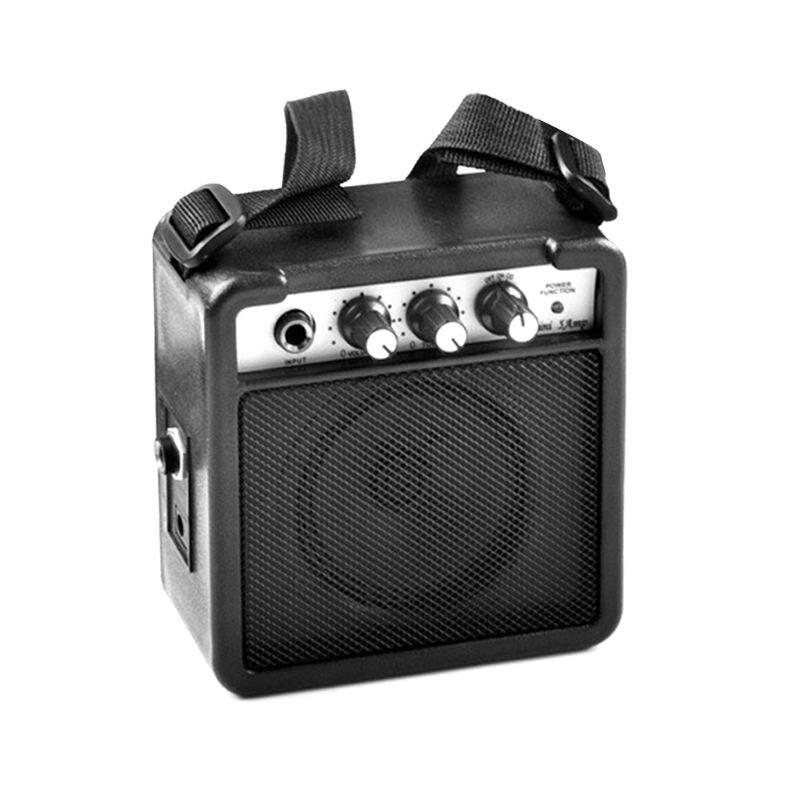 5W guitare électrique amplificateur de son Portable noir haut-parleur ceinture Clip effets de distorsion Volume réglable nouveau