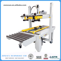 FXJ 6050 Commercial Automatic Carton Sealer Carton Sealing Machine Adhesive BOPP Tape Carton Package Machine