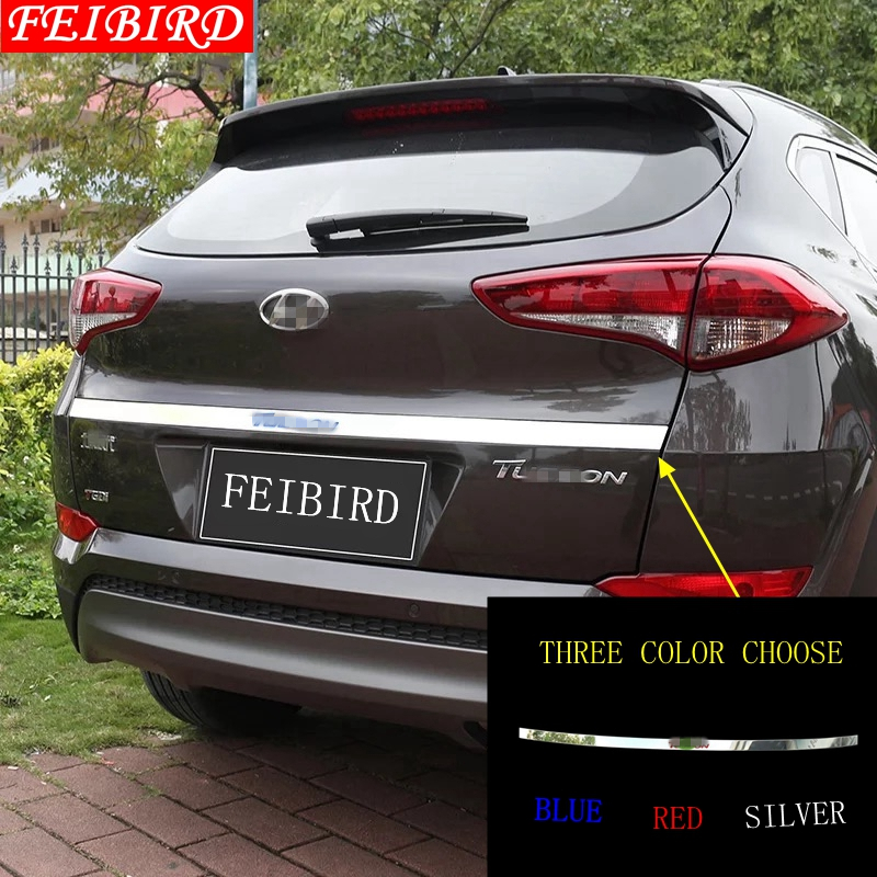 Tail Rear Trunk Hook Molding Cover Trim Accessories For Jeep Compass 2017-2019