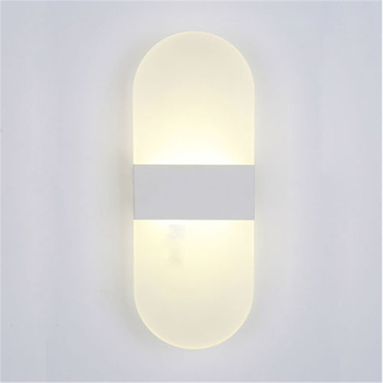 S/M/L Modern LED Round/Square Wall Light Simple  1