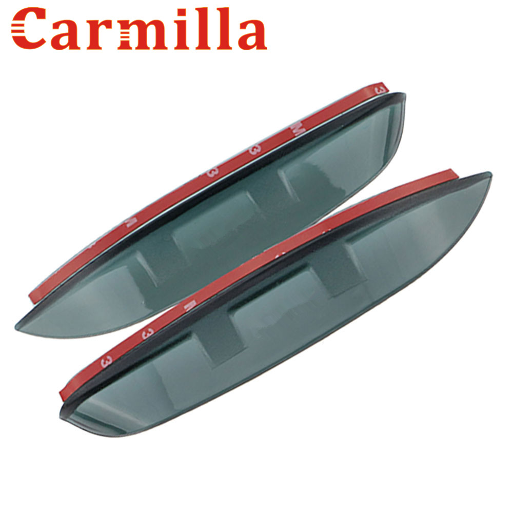 Carmilla Rear View Mirror Sticker Rain Visior Reflective Mirror Rain Shield Cover For Chevrolet Cruze 2009 - 2015