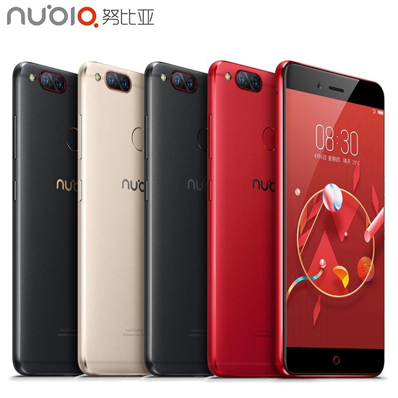 Original ZTE Nubia Z17 Mini 4G Mobile Phone 6GB RAM 64GB ROM 5.2 inch Snapdragon MSM8976 652 Octa Core Dual Camera Smartpone