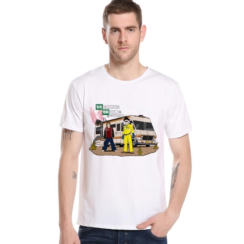 Summer Back to the Future Film T-Shirt S-XXXL Men/Women Short Sleeve Breaking Bad Shirts Rock Brand Clothing M12-4#