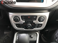 Car Accessories High Quality Inner Air Conditioning Outlet Vent Frame Cover Time Decoration 1Pcs For Jeep