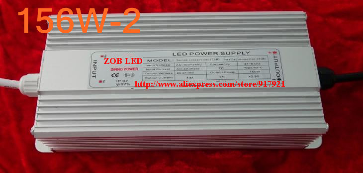 156w led driver, DC40V,3.9A,high power led driver for flood light / street light,IP65,constant current drive power supply 90w led driver dc40v 2 7a high power led driver for flood light street light ip65 constant current drive power supply