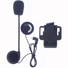 Micorphone Speaker & Clip Accessories ONLY Suit for FDCVB Helmet Bluetooth Intercom Headset