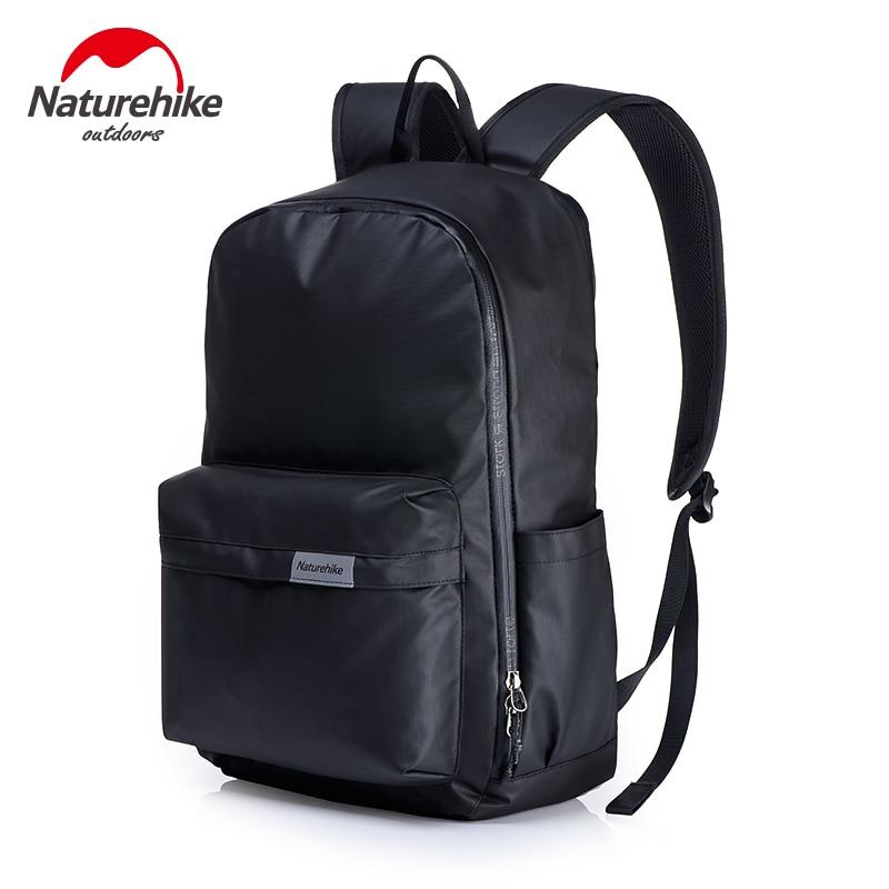 NatureHike 2017 Waterproof Backpack Men Women Leisure Backpack Outdoor Hiking Pack Sports Travel Computer Backpack 2 Color 23L fashion hiking leisure men backpack