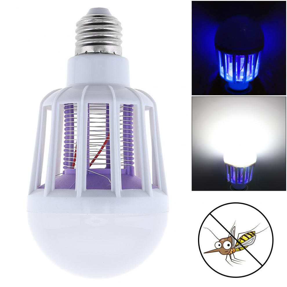 E27 9W Multi-function Mosquito Killer with LED Light Bulb Safe for Home / Kitchen / Office,220V