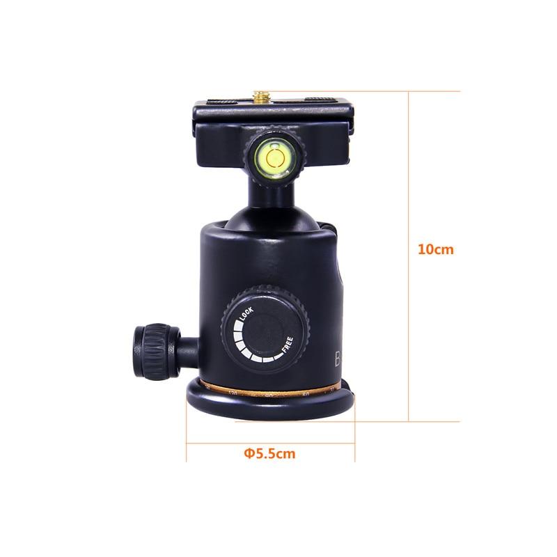 beike BK-03 kaamera statiivi kuulipea kiire vabastusplaadiga 1/4 - Kaamera ja foto - Foto 3