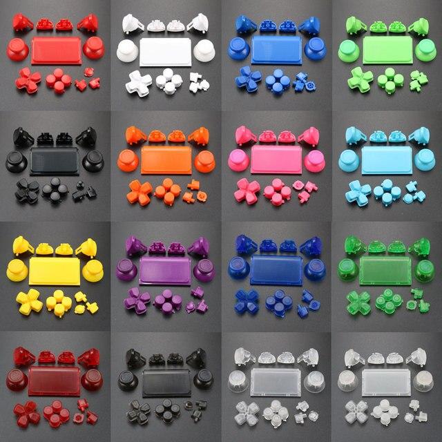 Ngọc Khê Cho Tay Cầm Dualshock 4 PS4 Pro Slim Bộ Điều Khiển Jds 040 Jds 040 Dpad L1 R1 L2 R2 Nút Kích Hoạt Analog Cần Điều Khiển gậy Chụp Hình