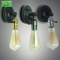 Single Head Vintage Wall Lamp E27 Lamp Holder 110 240V Coffee House Dining Hall Foyer Shop