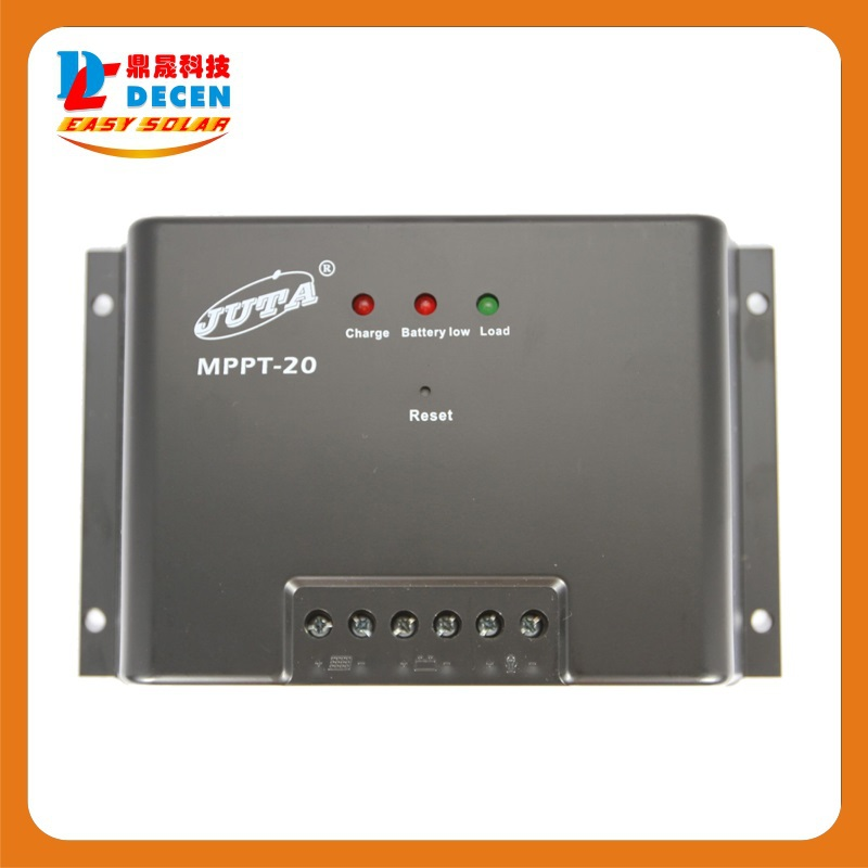 MAYLAR@ MPPT20-12/24 Juta 20A MPPT solar Charge Controller 12V/24V Regulator
