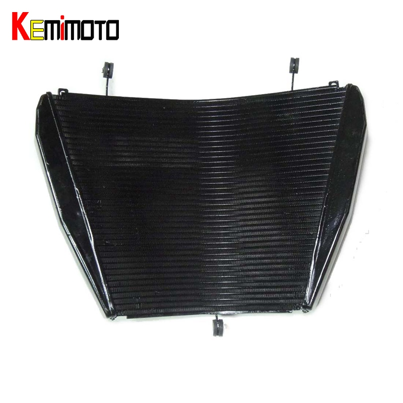 KEMiMOTO Motorcycle Aluminum Cooling Radiator For Honda CBR1000RR CBR 1000 CBR1000 RR 2008 2009 2010 2011 Cooler Accessories motorcycle accessories cooling aluminum cooler radiators for honda bros 650 ntv650 1988 1989 1990