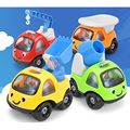 Super Cute Mini Cartoon Cars Random Color Truck Car Toys Lovely Gift for Baby Boys and Girls